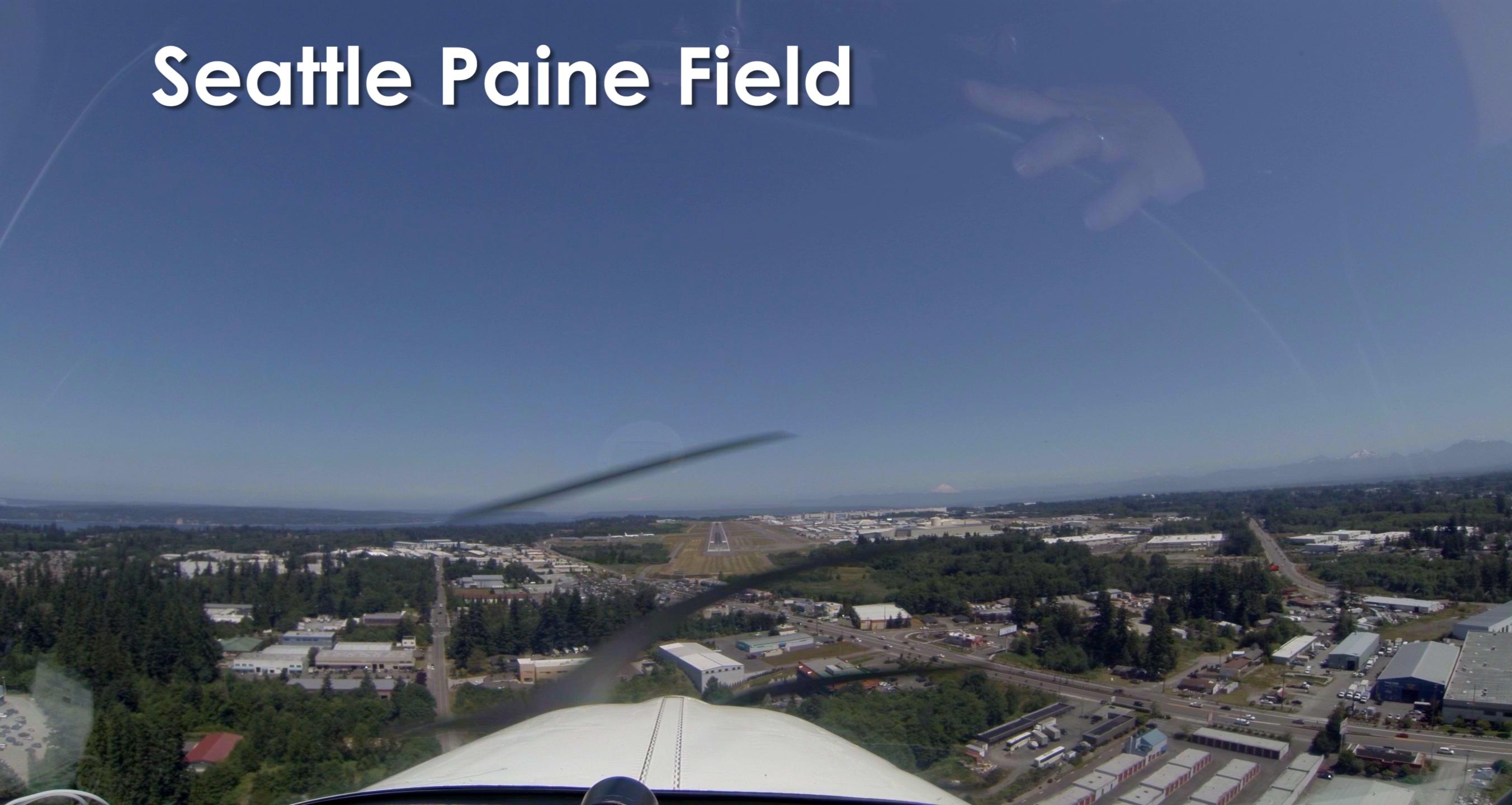 Final Approach KPAE 34L